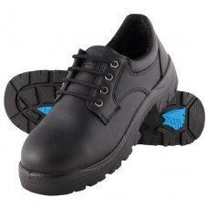 Steel Blue Eucla Oxford Style Work Shoe, Steel Toe