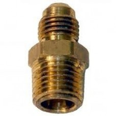 Ansul 32338 Male Straight Connector (7/16-20 JIC x 1/4 in. NPT)