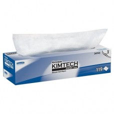 """Kimberly-Clark 34743 Kimtech Delicate Task Wipes - Pop-Up Dispenser - 11.8"""" x  11.8"""" - 119 Wipes/ Box - (CLOSEOUT)"""