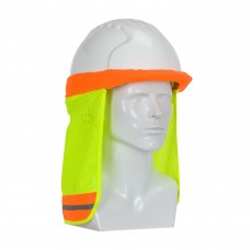 PIP 396-700FR FR Treated Hi-Vis Hard Hat Neck Shade, Use on Cap Hard Hats