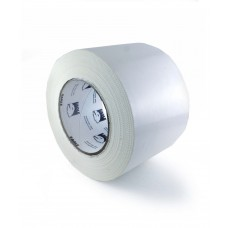 "Eagle Standard 4"" x 180' White Poly Tape 7.5 Mil - 12 Rolls / Case"