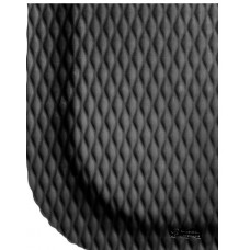 "Andersen Hog Heaven 4.8' x 8' x 7/8"" Anti-Fatigue Mat, Black Border"