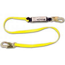French Creek 450A Shock Absorbing 6' Web Lanyard w/ Pack