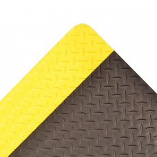 NoTrax 479 Cushion Trax® 2X3 Anti-Fatigue Mat - Black / Yellow