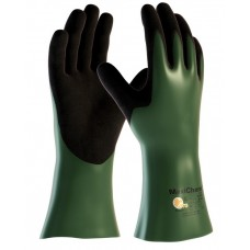"PIP 56-633 MaxiChem Cut  Nitrile Blend Coated 12"" Glove - HPPE Liner and Non-Slip Grip on Palm & Fingers - Pair"
