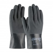 "PIP 56-AG585 ActivGrip Nitrile Coated Glove with Cotton Liner and MicroFinish Grip - 10"" - Dozen"