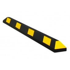 GNR 16101 Park-It Car Stop - 6 Ft - Yellow Stripe