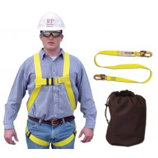 French Creek 631-KIT Construction Fall Protection Kit, Universal M-XL