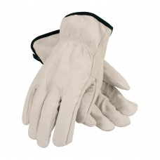 PIP 68-105 Economy Grade Top Grain Cowhide Leather Drivers Glove - Straight Thumb - Pair - (CLOSEOUT)