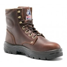 "Steel Blue Argyle 6"" Work Boots, TPU, Steel Toe"