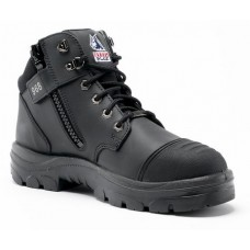 "Steel Blue Parkes Zip 5"" Work Boots, TPU, Steel Toe"