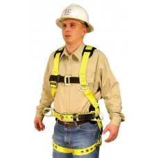 French Creek 850AB Full Body Harness with Shoulder Pads and Hip Positioning D-Rings