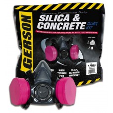 Gerson 9256 Silica and Concrete Dust Kit with P100 Filter Cartridge