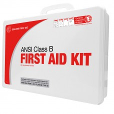 Genuine First Aid Class B 50 Person 2015 ANSI / OSHA Easy Care First Aid Kit