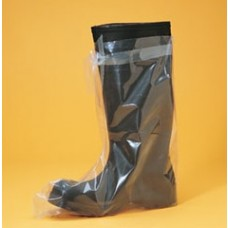 BOOT COVER - 4 MIL HEAVY DUTY POLYETHYLENE, LARGE, 250 PR / CASE