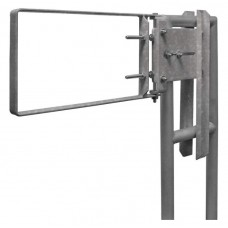 "Fabenco A94-24 Self Closing Safety Gate - 316L Stainless Steel - Fits 25-27.5""' Opening"