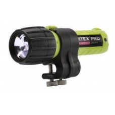 Nitex eLED-AT2 w/Charger, Helmet Clip, AC Power Supply, Safety Yellow (US) CL I, Div 2