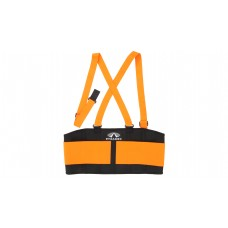 Pyramex BBS400 Hi Vis Orange Back Support, Standard Weight