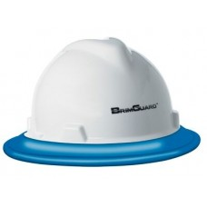 BrimGuard ID - Full Brim Hard Hat Band - Blue - 12 Pack