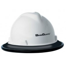 BrimGuard ID - Full Brim Hard Hat Band - Black - 12 Pack