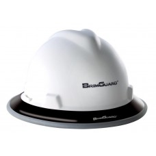 BrimGuard Hi-Viz Dual - Reflective Full Brim Hard Hat Band - Black - 12 Pack