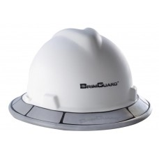 BrimGuard Hi-Viz Max - Reflective Full Brim Hard Hat Band - 12 Pack