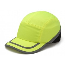 Pyramex HP50031 Hi Vis Yellow Baseball Bump Cap