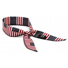 Pyramex Cooling Beaded Bandana - American Flag