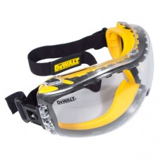 DEWALT DPG82-11 Concealer Safety Goggle, Clear Lens, Anti-Fog
