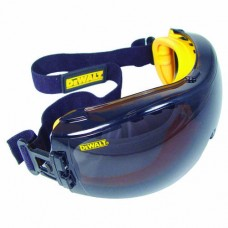 DEWALT DPG82-21 Concealer Safety Goggle, Gray Lens, Anti-Fog