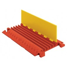 Checkers CP5X125 Linebacker 5-Channel Heavy-Duty Cable Protector - Yellow / Orange
