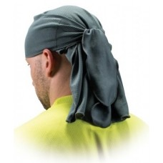 Pyramex CSKT212 Moisture Wicking Gray Skull Cap with Ties