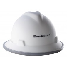 BrimGuard Hi-Viz DripGuard MAX - Reflective Hard Hat Band - Full Brim - 12 Pack