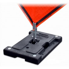 Dicke DSB100 Stacker - 42 lbs Rubber Base Stands for Roll-Up Signs w/ Pocket Panel Holder