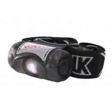 3AAA Vizion I Headlamp with Woven Black Band, Black (CL I Div 1)