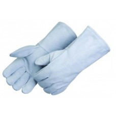 Liberty E7270 Economy Regular Shoulder Grey Split Leather Welding Gloves - Large - Pair - (CLOSEOUT - LIMITED STOCK AVAILABLE)