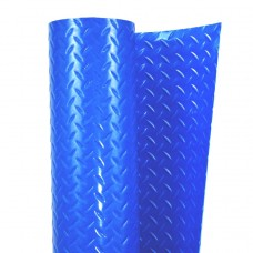 "Cover Guard 40 mil Blue FR 36"" x 120' Diamond Plate, CG-4036DP"