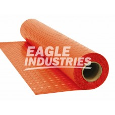 """Eagle 25 Mil Cover Guard Surface Protection - Orange - Non-FR - 72"""" x 180'"""
