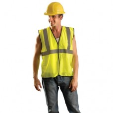 Occunomix ECO-GC High Visibility Value Mesh Standard Vest, Lime/Yellow