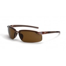 Crossfire ES5 Polarized HD Brown Lens Crystal Brown Frame