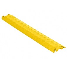 Checkers FL1X1.5 1-Channel Fastlane Drop-Over Cable Protector (1.5 in.) - Yellow