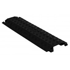 Checkers FL1X4 1-Channel Fastlane Drop-Over Cable Protector (4 in.) - Black