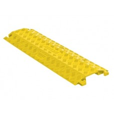 Checkers FL1X4 1-Channel Fastlane Drop-Over Cable Protector (4 in.) - Yellow