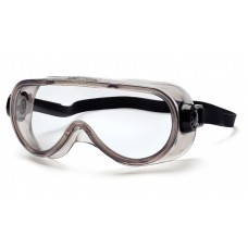Pyramex G304TN Goggles, Chem Splash, Clear, Anti-Fog, Neoprene Strap