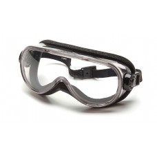 Pyramex G404T Safety Goggles - Foam Padding - Chem Splash - Clear Anti-Fog Lens