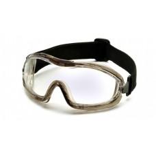 Pyramex G704T Chemical Splash Goggles, Low Profile, Clear Lens, Anti-Fog