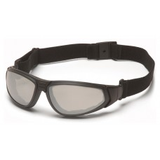 Pyramex GB4080ST XSG Safety Glasses/Goggle - Black Frame - Indoor / Outdoor Anti-Fog Lens