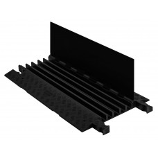 Checkers GD5X125 5-Channel General-Purpose Guard Dog Cable Protector - Black / Black