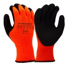 Pyramex GL504 Insulated Dipped ANSI A2 Cut Resistant Work Glove - Pair