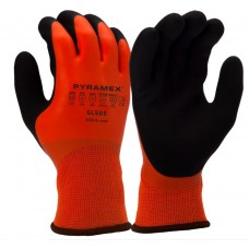 Pyramex GL505 Sandy Latex Insulated ANSI A2 Cut Resistant Work Gloves - Pair